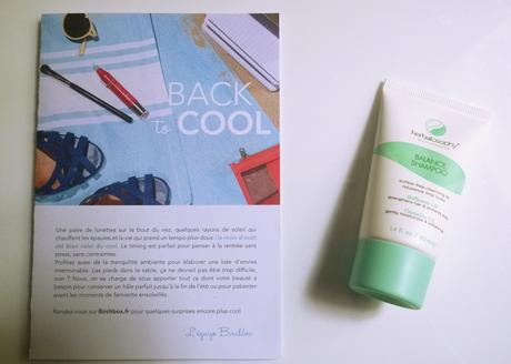 J'ai reçu ma Birchbox Back to Cool !!!