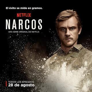 Affiche de la nouvelle série de Netflix, Narcos