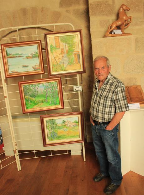 Maurice Moinet et ses peintures