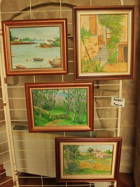 Peintures de notre guide
