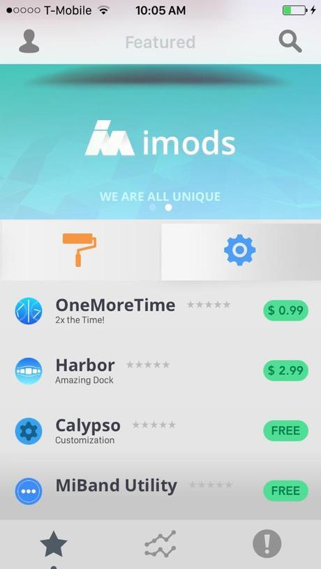 iMods Beta: l'alternative à Cydia