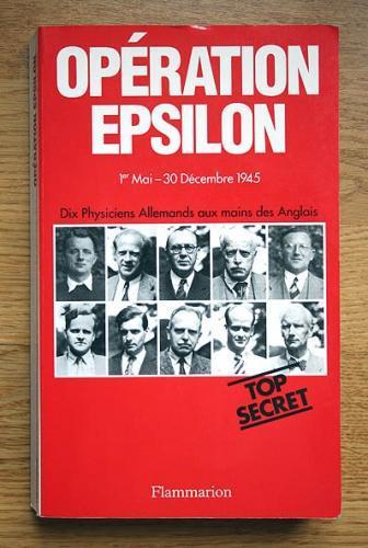 Epsilon, Facqueval, Farm Hall, Charle Frank,