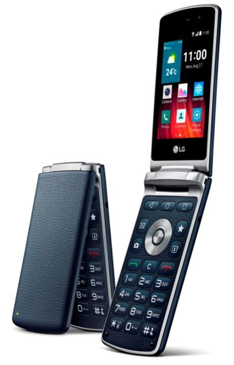 LG et Samsung lancent un smartphone avec clapet et clavier