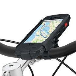 Tigra Sport BikeConsole étui Coque et Montage pour iPhone 6 - Noir - iPhone 6 Shell can be removed from bike in seconds and used as a iphone case, and / or attached to the car windscreen mount (bought separately) to act as a car GPS - Fully enclosed ...
