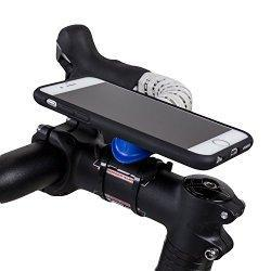 FEATURES: The Quad Lock® Bike Mount for iPhone 6 is the lightest and strongest iPhone 6 Bike Mount available thanks to the Patent Pending Quad Lock dual lock system. The iPhone 6 bike kit is supplied with everything you need. Now your iPhone 6 can be...