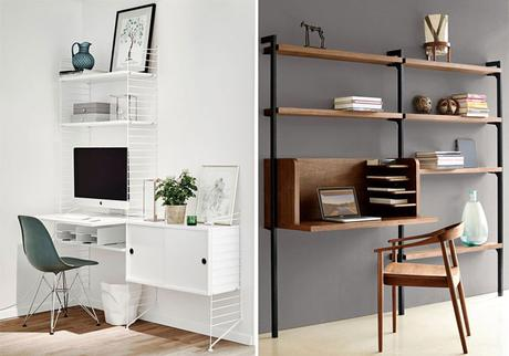 le bureau un espace design et fonctionnel paperblog. Black Bedroom Furniture Sets. Home Design Ideas