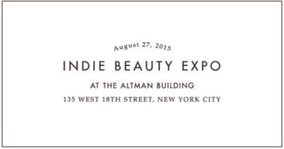 Back to School, Indie Beauty Expo, Duende Fashion, Beauty Heroes, Matter Print, etc...