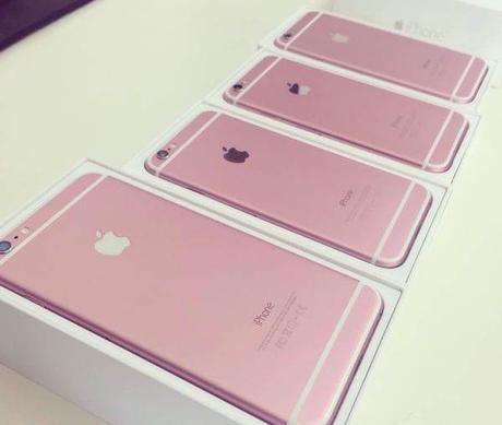 Et l'on reparle de l'iPhone 6 rose