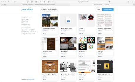 Jumpshare: partager des fichiers facilement sur Mac