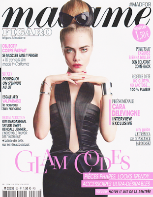 Margo in Madame Figaro