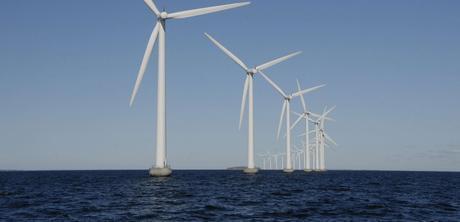 Ferme éolienne de Middelground, au Danemark © Francis Joseph Dean/REX/REX/SIPA