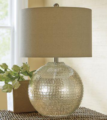 Round Metal Accent Table