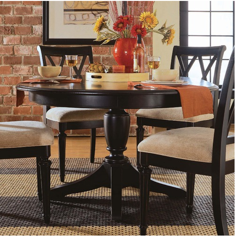 Round Dining Table Set For 4