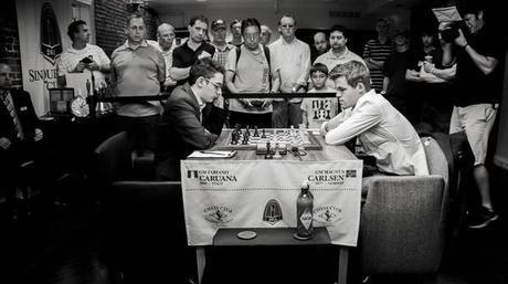 Magnus Carlsen et Fabiano Caruana s'affronteront à Saint-Louis © Chess & Strategy