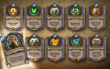 Hearthstone – extension « Le grand Tournoi »