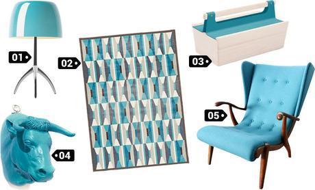 décoration Bleu Turquoise / Canard