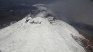 cotopaxi eruption volcan equateur