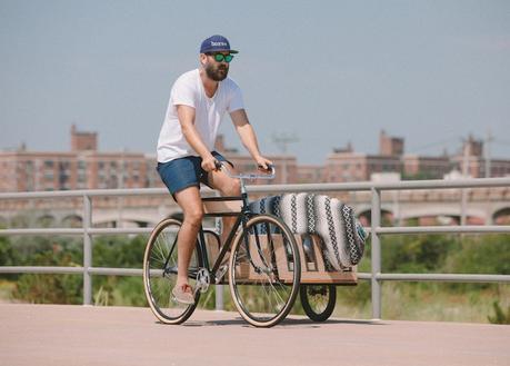 Horse: Le vélo side-car adapté aux surfeurs