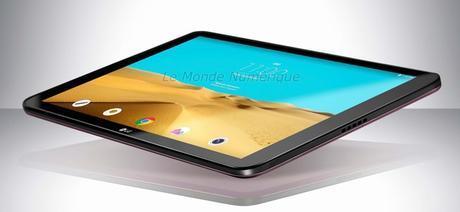 IFA 2015 : LG dévoilera une nouvelle tablette tactile de 10 pouces 4G sous Android