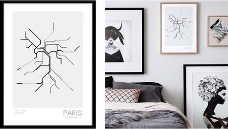 Paris S'Affiche En Déco Mural - Paperblog