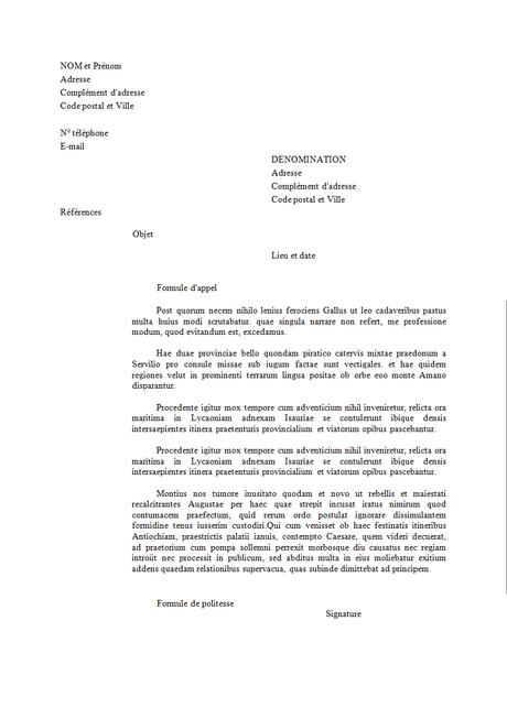 Courrier Administratif Comment Bien Rédiger Une Lettre