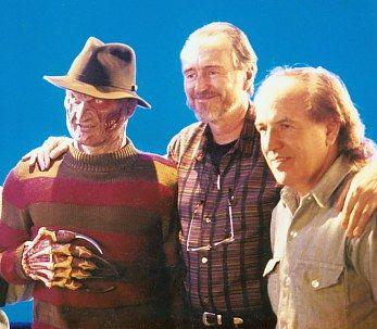 Freddy and Wes Craven