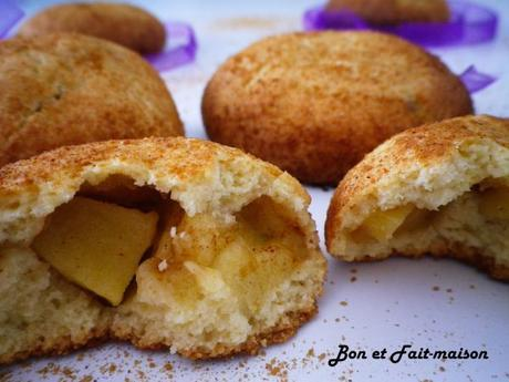 Biscuits moelleux pomme/cannelle {Bataille Food #26}