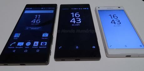 IFA 2015 : Sony lance le tout premier smartphone avec un écran Ultra HD 4K, le Z5 Premium et ses déclinaisons