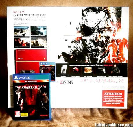 Serie PS4 MGS V The Phantom Pain Collector
