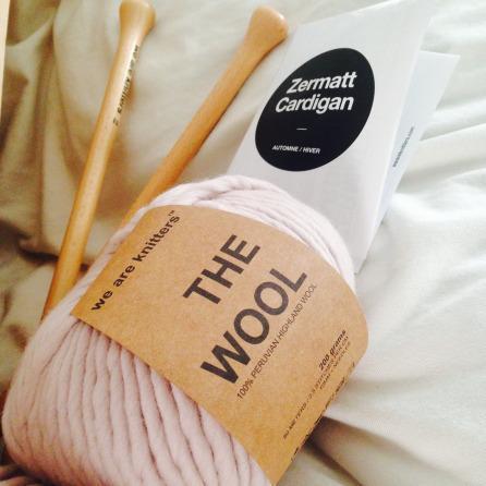 Cardigan Zermatt de We Are Knitters + CONCOURS !