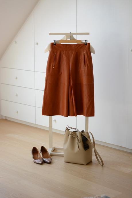 ZARA leather skirt FW15 3