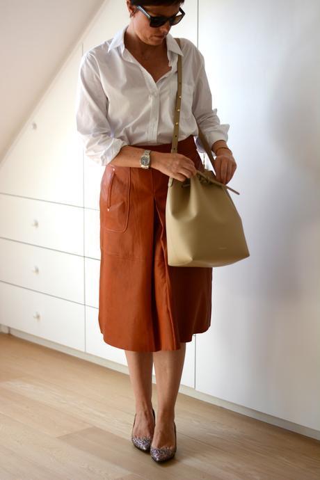 ZARA leather skirt FW15 5