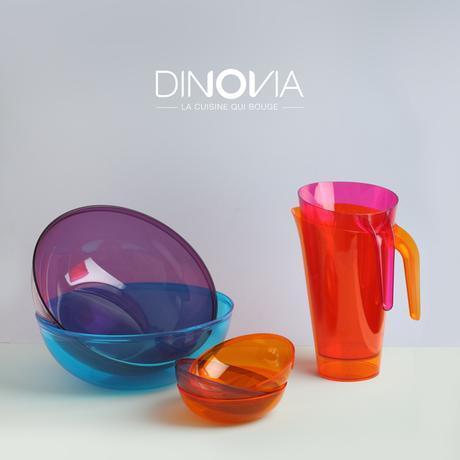 vaisselle jetable colorée