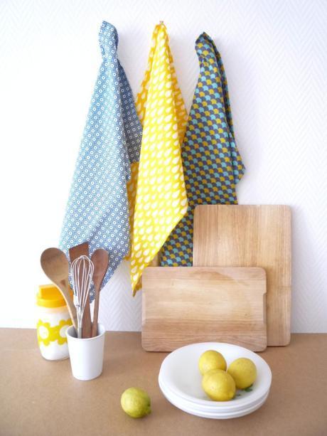 Ils sont disponibles sur notre boutique en ligne !Torchon jaune...