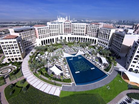 The Ritz-Carlton Abu Dhabi, Grand Canal aerial viewLR