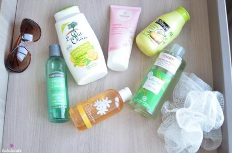 ( 2015 ) Ma sélection de gels et laits de douche estivaux préférés !