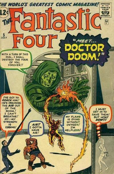 Marvel Comics-The Fantastic Four #5-1962