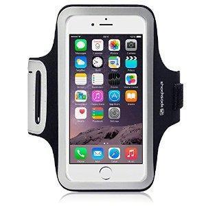 Shocksock Brassard Armband Sport pour iPhone 6 Plus Coque - Noir