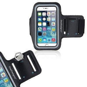 IDACA Brassard Armband Sport pour Apple iPhone 6 4.7 inch   Brassard en néoprène fait sur mesure pour Apple iPhone 6 4.7 inch.  Fabrique à partir de Néoprène léger, protège votre téléphone contre rayures Impression de soie pour les boutons de volume ...