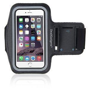 IDACA Brassard Armband Sport pour Apple iPhone 6 plus      Brassard en néoprène fait sur mesure pour Apple iPhone 6 plus .   Fabrique à partir de Néoprène léger, protège votre téléphone contre rayures   Impression de soie pour les boutons de volume e...
