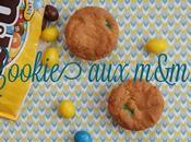 rentrée bloguesque cookie m&m's