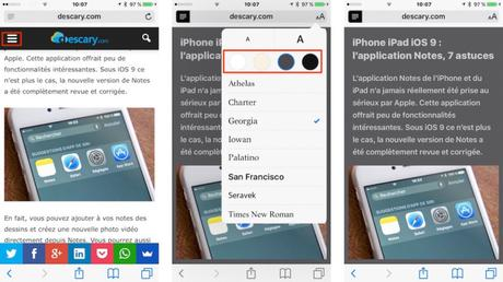 iPhone iPad iOS 9 : 10 astuces