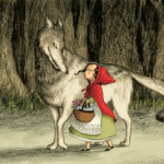 l illustration de le chaperon rouge