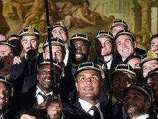 Retour Welcome Ceremony Coupe monde rugby