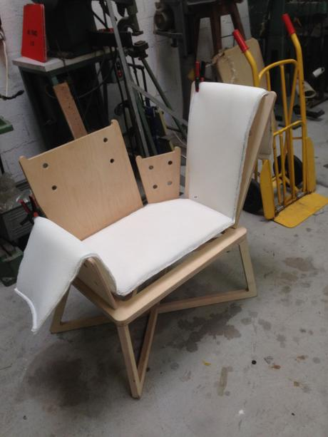 Fauteuil Claude position variable par Benjamin Lina