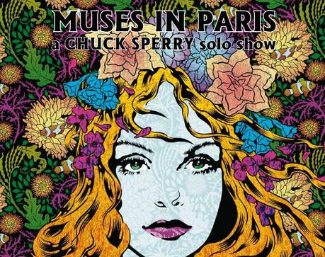 La playlist musicale de l'exposition « Muse in Paris » de Chuck Sperry à l'Oeil Ouvert #15
