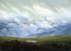 Caspar David Friedrich - Nuages passant (1920)