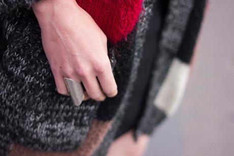 laine colorée