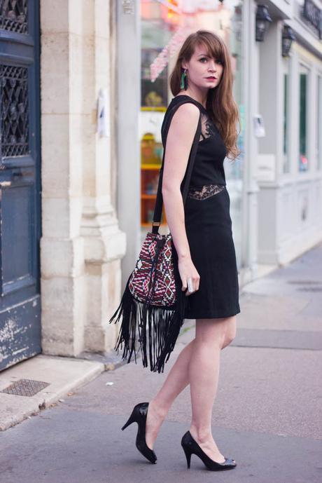 look robe noire