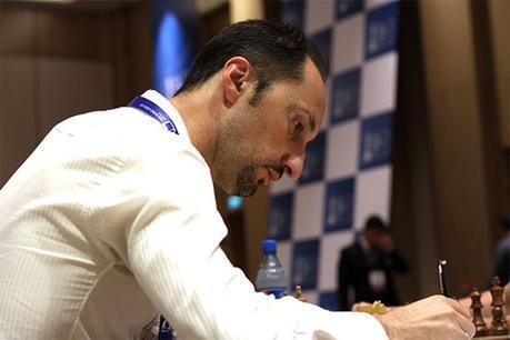 Le joueur d'échecs bulgare Veselin Topalov a dit au revoir à Bakou © site officiel